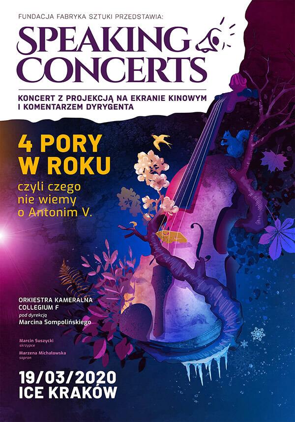 4 Pory Roku - Antonio Vivaldi - Koncert Kraków