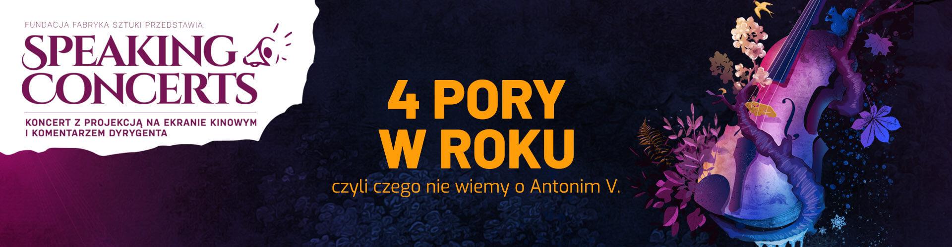 Speaking Concerts - Koncert 4 Pory w Roku - Vivaldi - Kraków ICE
